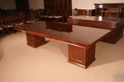 New Hickory Chair Regency Mahogany Conference Table - Regency conference table