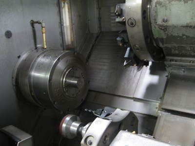 Okuma lr-25 4-axis cnc lathe 4 3