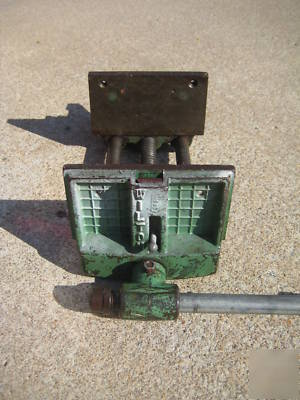 Wilton woodworking vise- vintage - chicago usa