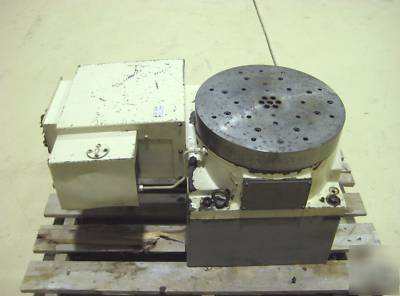 Tsudakoma 4th Axis Cnc Rotary Table 16 Quot Indexer To Mill