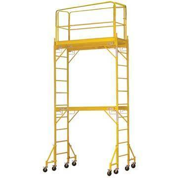 12 Baker Scaffold Adjustable Height Rolling Platform