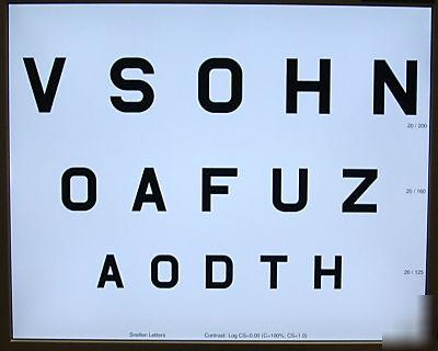 Vs Eye Digital Visual Acuity Panel Digital Eye Chart