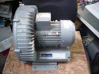 Nash Elmo Regenerative Air Blower G200 Gast Vacuum Pump