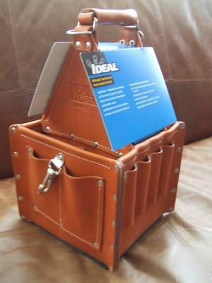 Ideal Tuff Tote Ultimate Leather Tool Carrier 35 975