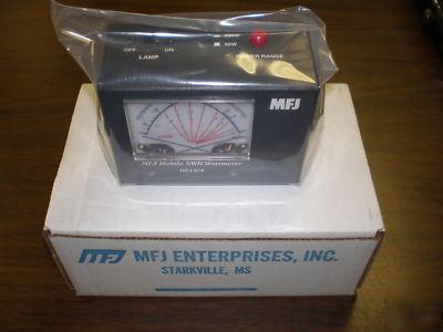 New mfj-818 1 8 - 30 mhz mobile swr/wattmeter ( )
